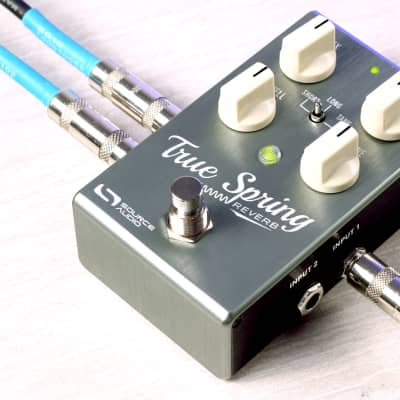 NEW! FREE PRIORITY SHIPPING in USA - Source Audio True Spring - Reverb and Tremolo with Tap Switch