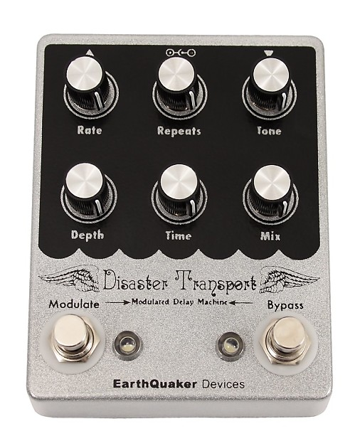 earthquaker devices disaster transport delay music toyz reverb. Black Bedroom Furniture Sets. Home Design Ideas