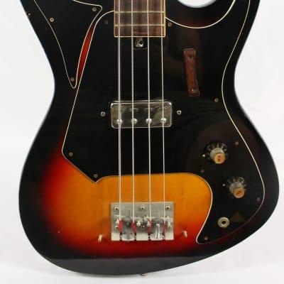 Vintage Teisco Telestar 4-String Electric Bass Guitar