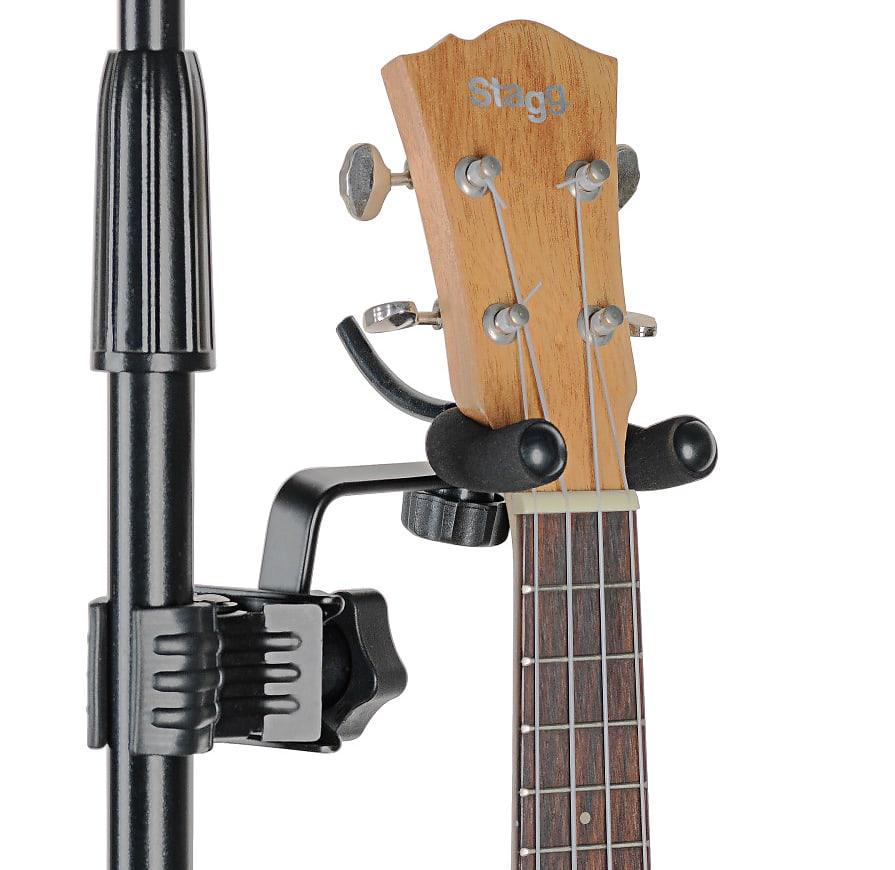 Stagg Ukulele Violin Or Mandolin Holder With Clamp