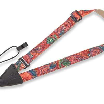 """Levy's MX23-004 1"""" Wide Cork Classical and Ukulele Strap"""