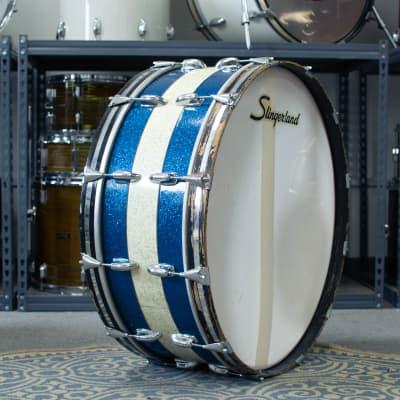 "1970s Slingerland 10x28"" Haskell W. Harr Scotch Bass Drum"