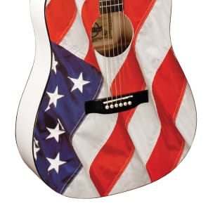 Indiana USA-1 Freedom & Liberty Dreadnought American Flag