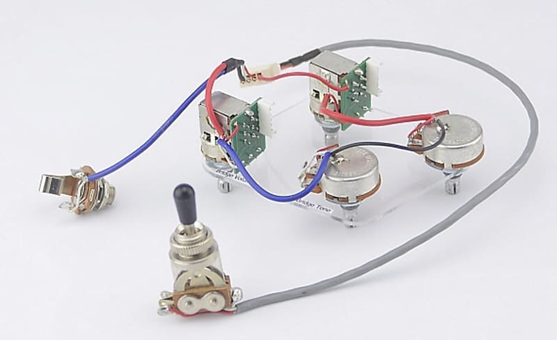 Epiphone Les Paul Pro Wiring Harness Coil Split  Pull
