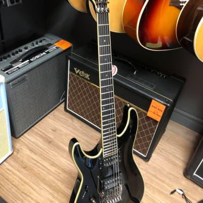 Schecter Blackjack SLS C-1  w/ Floyd Rose Satin Black Left-Handed for sale