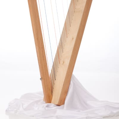 Rees Harps Special Edition Fullsicle Harp, 26 Strings, Natural Walnut Finish, Made in the USA