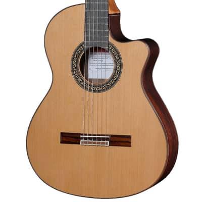 Jose Ramirez Cutaway 1 Studio Guitar Cedar Top with Fishman + Hard Case for sale