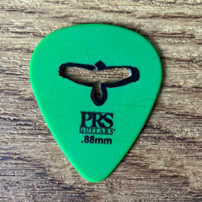 """PRS Paul Reed Smith Delrin """"Punch"""" Picks - Green .88mm for Electric Guitar"""