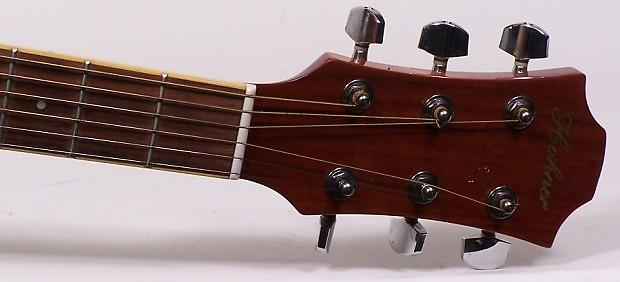 hohner hea 55ceq n acoustic electric guitar natural with case reverb. Black Bedroom Furniture Sets. Home Design Ideas