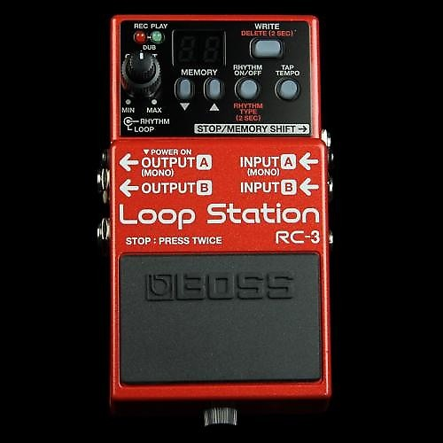 boss rc 3 loop station effect pedal stompbox the music zoo reverb. Black Bedroom Furniture Sets. Home Design Ideas
