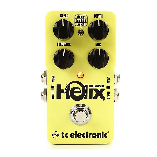 tc electronic helix phaser guitar effects pedal reverb. Black Bedroom Furniture Sets. Home Design Ideas