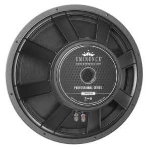 """Eminence Omega Pro-18A Professional 18"""" 800w 8 Ohm Replacement Speaker"""