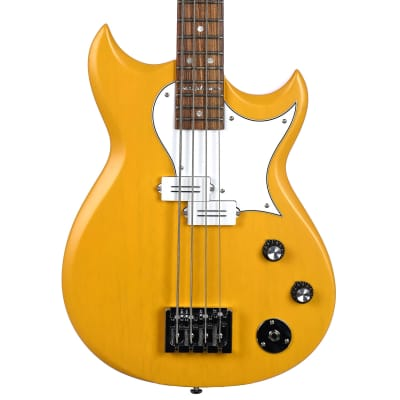Reverend Mike Watt Wattplower Bass With TKL Case - Satin Yellow for sale
