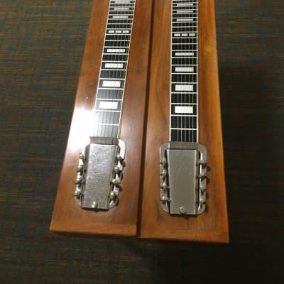 Rickenbacker Doubleneck Steel Guitar  with legs 1962 Walnut for sale