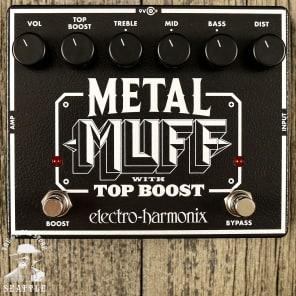 Electro-Harmonix Metal Muff with Top Boost Distortion
