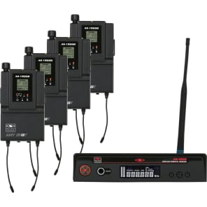 Galaxy Audio AS-1800-4B3 Wireless Personal Monitor System - Band B3 (554-570 MHz)