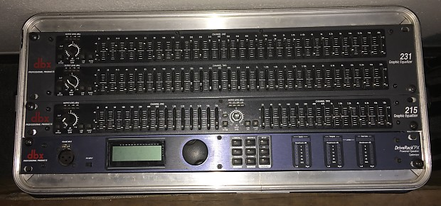 dbx 215 2-Channel Graphic Equalizer