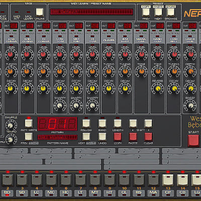 D16 Nepheton Drum Machine