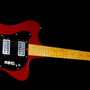 Burns LJ24 1977 Cherry Transparent.  PROTOTYPE. Extremely Rare & Collectible.  Only 25.  Handmade. for sale