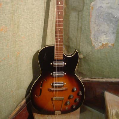 1960s Kay Truetone Speed Demon Sunburst for sale