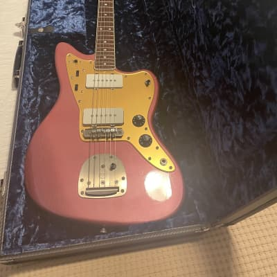 Shelton Electric Instruments GalaxyFlite Vintage Custom 2018 Aged Burgandy Mist Metallic Lacquer for sale