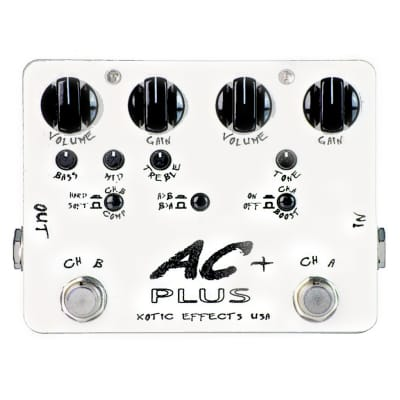 Xotic AC Plus Overdrive Boost Effects Pedal (NOS) for sale