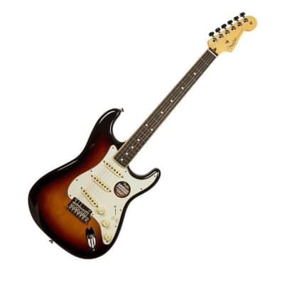 Fender American Standard Stratocaster Channel Bound Fretboard 3 Tone Sunburst for sale