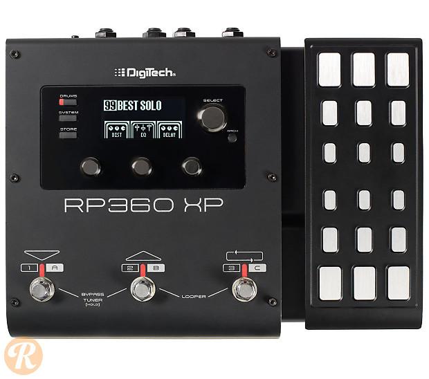 digitech rp360xp guitar multi effect pedal price guide reverb. Black Bedroom Furniture Sets. Home Design Ideas
