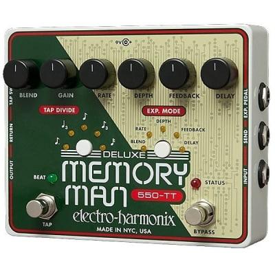 Electro Harmonix MT550 Deluxe Memory Man Tap Tempo 550 for sale