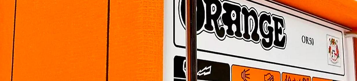 Orange or50 tube guitar amp head reverb for Motor city guitar waterford