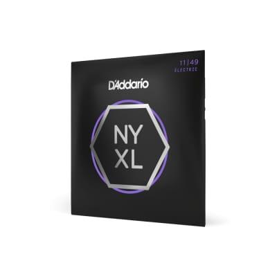 D'Addario NYXL - Nickel Wound NY Steel Core Electric Guitar Strings - Medium (11-49)
