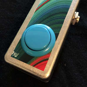 Saturnworks Arcade Button Soft Touch Passive Killswitch Kill Mute Switch Pedal, Handcrafted in CA