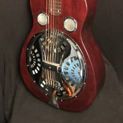 RedLine Acoustics/RedLine Resophonics Econoline R-Body Square Neck Guitar, Gig Bag Included
