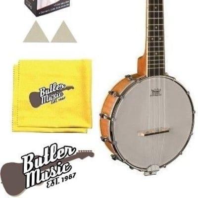 Oscar Schmidt Model OUB1 Concert Size Banjolele Banjo Uke w/Strings + More