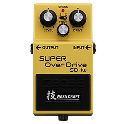 Boss Waza Craft SD-1w Super OverDrive