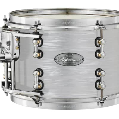 "Pearl Music City Custom Reference Pure 26""x14"" Bass Drum w/BB3 Mount RFP2614BB - Pearl White Oyster"