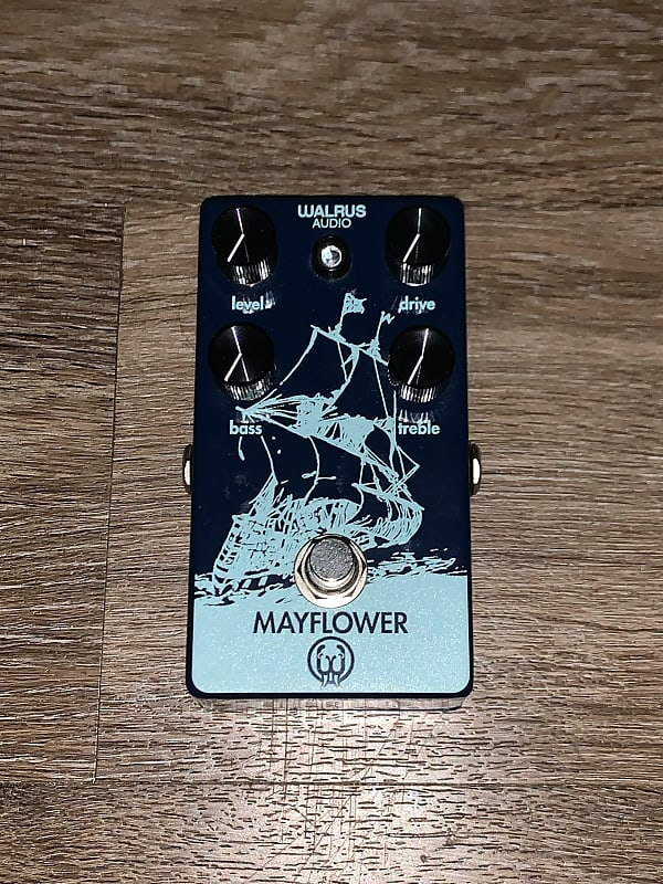 walrus audio mayflower overdrive pedal clay 39 s gear reverb. Black Bedroom Furniture Sets. Home Design Ideas