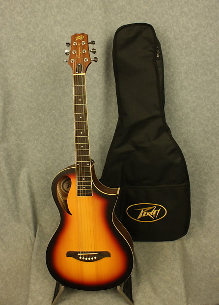 2019 New Style Peavey Composer Parlor Sunburst Acoustic/electric Guitar With Gig Bag Strong Packing Guitars & Basses
