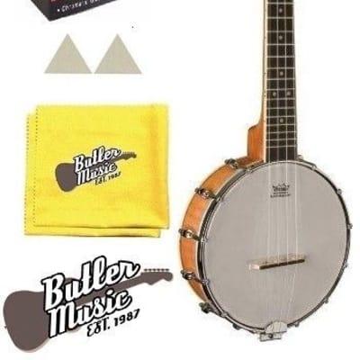 Oscar Schmidt Model OUB1 Concert Size Banjolele Banjo Uke w/Effin Tuner + More