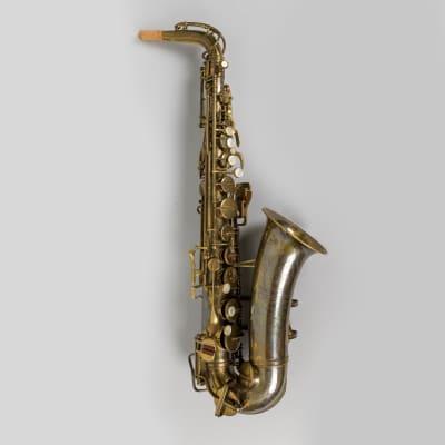 Vintage ~1949-1950 Buescher Big-B Aristocrat Alto Saxophone