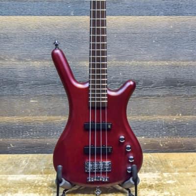 Warwick Rockbass Corvette Basic 4-String Burgundy Red Transparent Satin Electric Bass