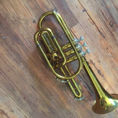 Musical Instruments & Gear King Cleveland Bell Front Baritone Horn Baritones