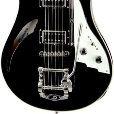 Duesenberg Double Cat Semi-Hollow Black for sale
