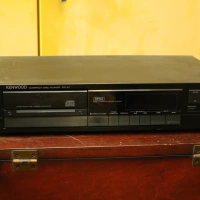 Kenwood DP-47 CD Player - Made in Japan - Vintage Compact Disc Player Component