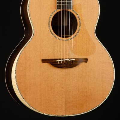 Lowden F-38 Brazilian Rosewood and Red Cedar with Bevel NEW natural