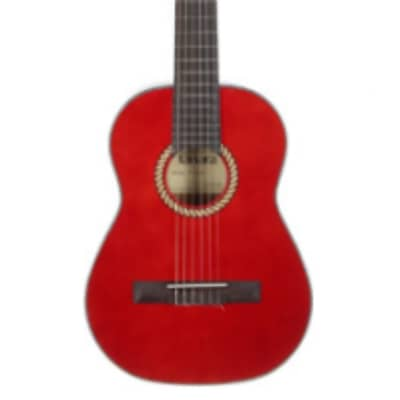 Tanara Classical 1/2 Size Red Guitar TC12RD for sale