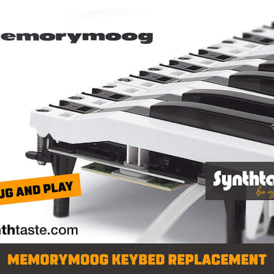 Memorymoog replacement Keybed, Keyboard  kit - Fatar TP/9s Keys