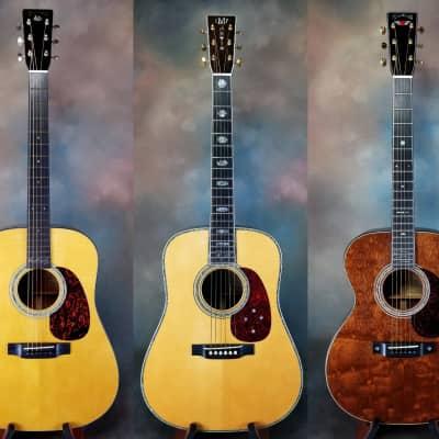 Martin CSN Trio: 2002 David Crosby D-18DC, 1999 D-45 SS Stephen Stills, 2003 000-40Q2GN Graham Nash for sale