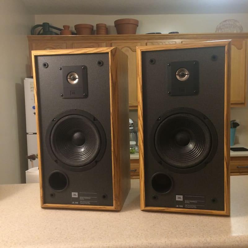 JBL 2600 speakers pair Titanium Tweeters - tested & working - USA made -  100W