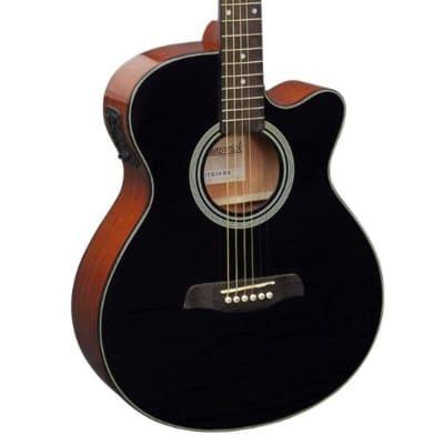 Brunswick BTK50 Electro Acoustic Cutaway - Black for sale